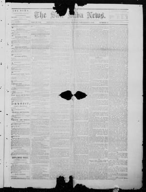 Primary view of object titled 'The San Saba News. (San Saba, Tex.), Vol. 7, No. 11, Ed. 1, Saturday, November 20, 1880'.