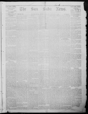Primary view of object titled 'The San Saba News. (San Saba, Tex.), Vol. 8, No. 21, Ed. 1, Saturday, February 4, 1882'.