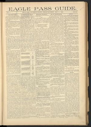 Eagle Pass Guide. (Eagle Pass, Tex.), Vol. 8, No. 36, Ed. 1 Saturday, May 2, 1896