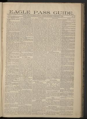 Eagle Pass Guide. (Eagle Pass, Tex.), Vol. 6, No. 23, Ed. 1 Saturday, February 3, 1894