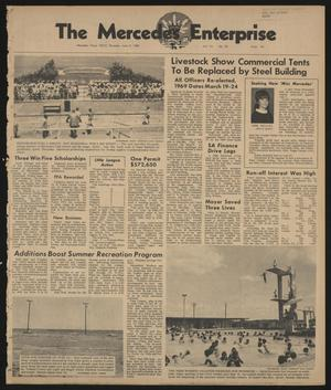 Primary view of object titled 'The Mercedes Enterprise (Mercedes, Tex.), Vol. 53, No. 23, Ed. 1 Thursday, June 6, 1968'.