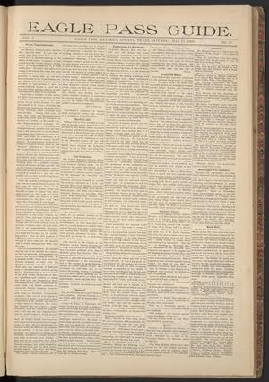 Eagle Pass Guide. (Eagle Pass, Tex.), Vol. 7, No. 37, Ed. 1 Saturday, May 11, 1895