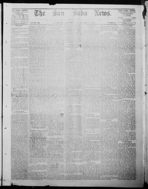 Primary view of object titled 'The San Saba News. (San Saba, Tex.), Vol. 8, No. 31, Ed. 1, Saturday, April 15, 1882'.
