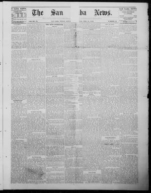 Primary view of object titled 'The San Saba News. (San Saba, Tex.), Vol. 9, No. 23, Ed. 1, Saturday, February 24, 1883'.