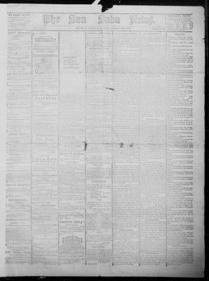 Primary view of object titled 'The San Saba News. (San Saba, Tex.), Vol. 10, No. 46, Ed. 1, Saturday, August 16, 1884'.