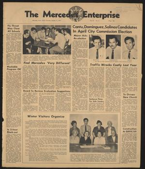 Primary view of object titled 'The Mercedes Enterprise (Mercedes, Tex.), Vol. 55, No. 3, Ed. 1 Thursday, January 15, 1970'.