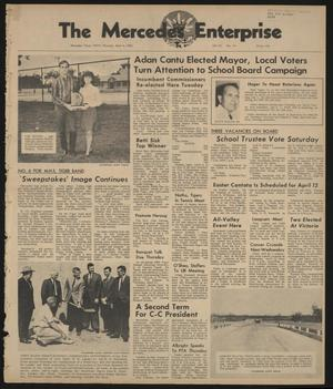 Primary view of object titled 'The Mercedes Enterprise (Mercedes, Tex.), Vol. 53, No. 14, Ed. 1 Thursday, April 4, 1968'.