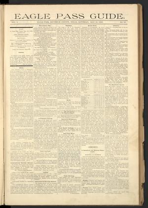Eagle Pass Guide. (Eagle Pass, Tex.), Vol. 8, No. 39, Ed. 1 Saturday, May 23, 1896