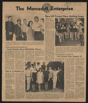 Primary view of object titled 'The Mercedes Enterprise (Mercedes, Tex.), Vol. 55, No. 32, Ed. 1 Thursday, August 6, 1970'.