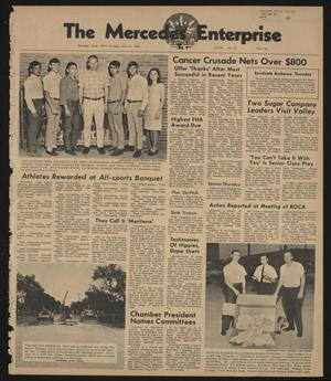 Primary view of object titled 'The Mercedes Enterprise (Mercedes, Tex.), Vol. 53, No. 16, Ed. 1 Thursday, April 18, 1968'.