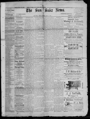 Primary view of The San Saba News. (San Saba, Tex.), Vol. 13, No. 37, Ed. 1, Friday, July 1, 1887