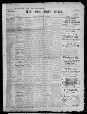 Primary view of object titled 'The San Saba News. (San Saba, Tex.), Vol. 13, No. 38, Ed. 1, Friday, July 8, 1887'.