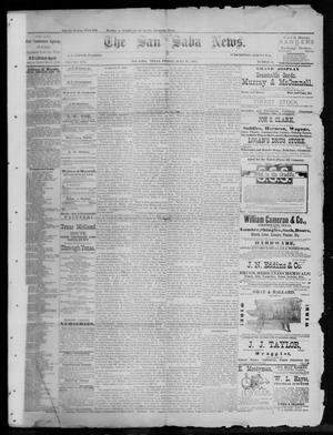 Primary view of object titled 'The San Saba News. (San Saba, Tex.), Vol. 13, No. 40, Ed. 1, Friday, July 22, 1887'.