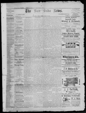 Primary view of object titled 'The San Saba News. (San Saba, Tex.), Vol. 13, No. 41, Ed. 1, Friday, July 29, 1887'.