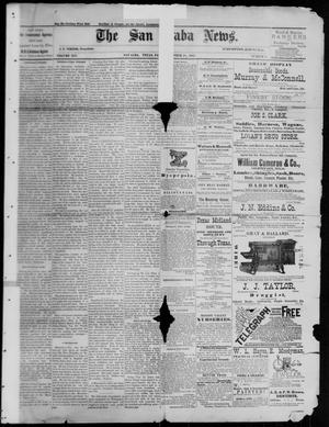 Primary view of object titled 'The San Saba News. (San Saba, Tex.), Vol. 14, No. 2, Ed. 1, Friday, October 28, 1887'.