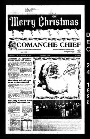 Primary view of object titled 'Comanche Chief (Comanche, Tex.), Vol. 124, No. 33, Ed. 1 Thursday, December 24, 1998'.