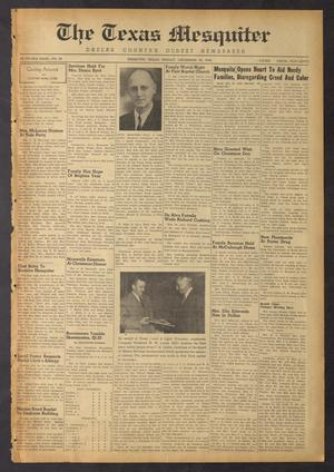 The Texas Mesquiter (Mesquite, Tex.), Vol. 67, No. 29, Ed. 1 Friday, December 30, 1949