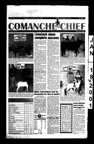 Primary view of object titled 'Comanche Chief (Comanche, Tex.), No. 37, Ed. 1 Thursday, January 18, 2001'.