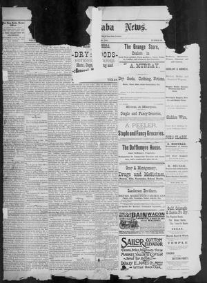 Primary view of object titled 'The San Saba News. (San Saba, Tex.), Vol. 17, No. 29, Ed. 1, Friday, May 29, 1891'.