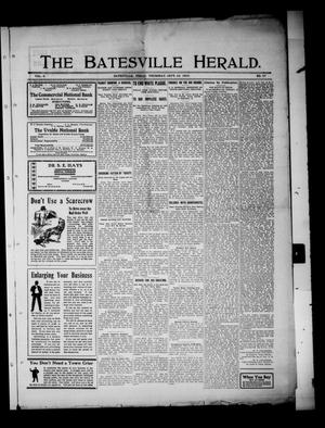 Primary view of object titled 'The Batesville Herald. (Batesville, Tex.), Vol. 8, No. 37, Ed. 1 Thursday, September 24, 1908'.