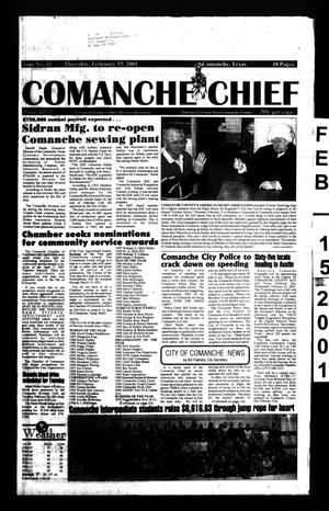 Primary view of object titled 'Comanche Chief (Comanche, Tex.), No. 41, Ed. 1 Thursday, February 15, 2001'.