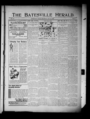 Primary view of object titled 'The Batesville Herald. (Batesville, Tex.), Vol. 10, No. 41, Ed. 1 Thursday, October 27, 1910'.
