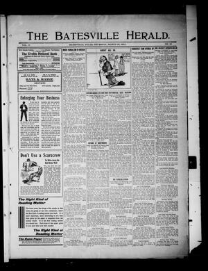 Primary view of object titled 'The Batesville Herald. (Batesville, Tex.), Vol. 11, No. 10, Ed. 1 Thursday, March 23, 1911'.
