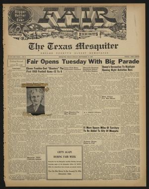 The Texas Mesquiter (Mesquite, Tex.), Vol. 71, No. 9, Ed. 1 Friday, September 18, 1953