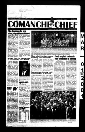 Primary view of object titled 'Comanche Chief (Comanche, Tex.), No. 43, Ed. 1 Thursday, March 1, 2001'.