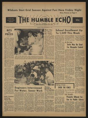 The Humble Echo (Humble, Tex.), Vol. 23, No. 36, Ed. 1 Thursday, September 10, 1964