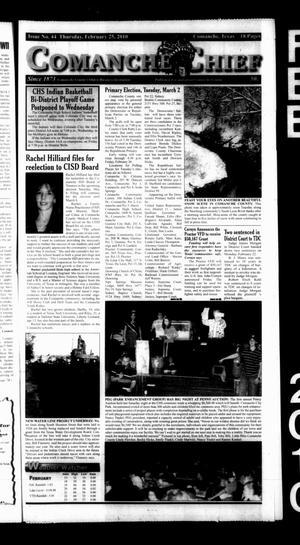 Comanche Chief (Comanche, Tex.), No. 44, Ed. 1 Thursday, February 25, 2010