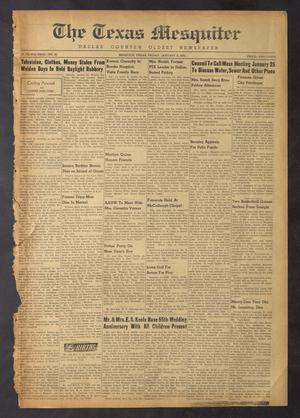 The Texas Mesquiter (Mesquite, Tex.), Vol. 68, No. 26, Ed. 1 Friday, January 5, 1951