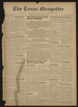 The Texas Mesquiter (Mesquite, Tex.), Vol. 66, No. 31, Ed. 1 Friday, January 7, 1949