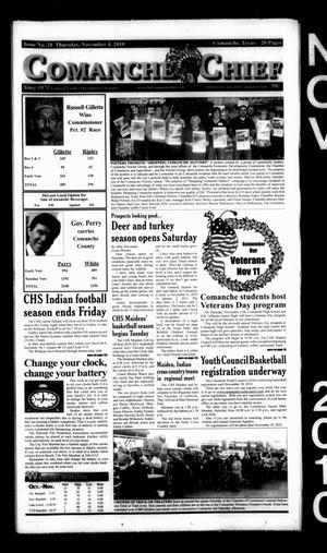 Comanche Chief (Comanche, Tex.), No. 28, Ed. 1 Thursday, November 4, 2010