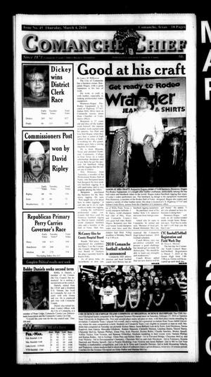 Comanche Chief (Comanche, Tex.), No. 45, Ed. 1 Thursday, March 4, 2010