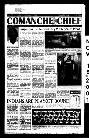 Comanche Chief (Comanche, Tex.), No. 28, Ed. 1 Thursday, November 15, 2001
