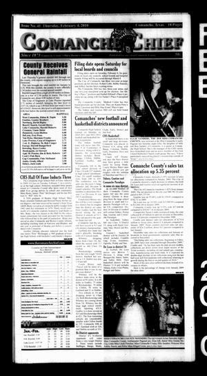 Comanche Chief (Comanche, Tex.), No. 41, Ed. 1 Thursday, February 4, 2010