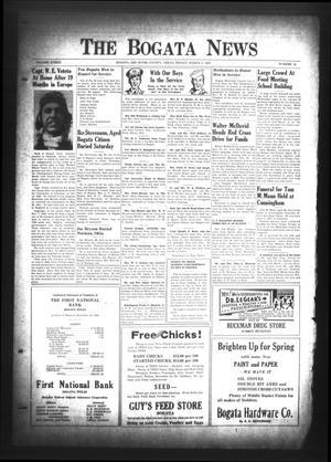 The Bogata News (Bogata, Tex.), Vol. 33, No. 19, Ed. 1 Friday, March 3, 1944