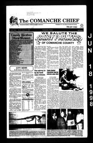 The Comanche Chief (Comanche, Tex.), Vol. 124, No. 6, Ed. 1 Thursday, June 18, 1998