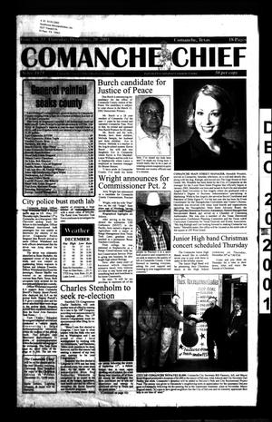 Comanche Chief (Comanche, Tex.), No. 33, Ed. 1 Thursday, December 20, 2001