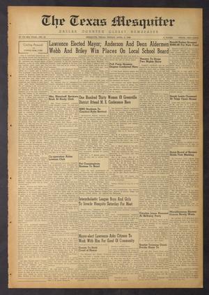The Texas Mesquiter (Mesquite, Tex.), Vol. 66, No. 43, Ed. 1 Friday, April 8, 1949