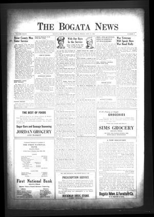 The Bogata News (Bogata, Tex.), Vol. 34, No. 4, Ed. 1 Friday, November 17, 1944