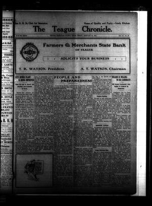 The Teague Chronicle. (Teague, Tex.), Vol. 10, No. 30, Ed. 1 Friday, February 18, 1916