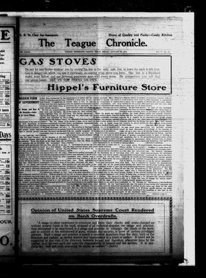 The Teague Chronicle. (Teague, Tex.), Vol. 8, No. 28, Ed. 1 Friday, January 30, 1914