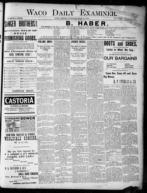 Primary view of Waco Daily Examiner. (Waco, Tex.), Vol. 18, No. 160, Ed. 1, Tuesday, May 12, 1885