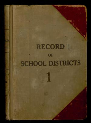 Travis County Clerk Records: Record of School Districts