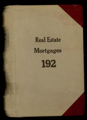 Travis County Probate Records: Real Estate Mortgages 192