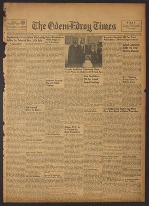 The Odem-Edroy Times (Odem, Tex.), Vol. 3, No. 42, Ed. 1 Wednesday, March 21, 1951