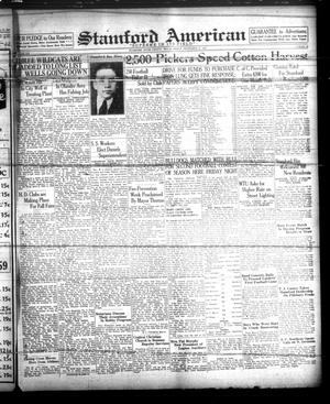 Stamford American (Stamford, Tex.), Vol. 14, No. 26, Ed. 1 Friday, September 24, 1937