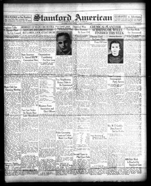Stamford American (Stamford, Tex.), Vol. 14, No. 28, Ed. 1 Friday, October 8, 1937